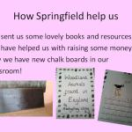 How Springfield help the School in Gambia