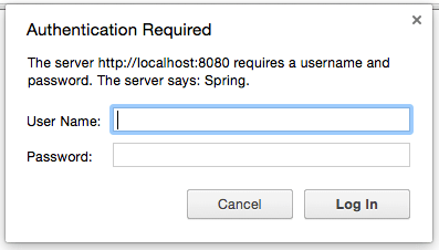 Basic Auth via Spring Security