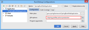 Run Debug Configurations Dialog Box
