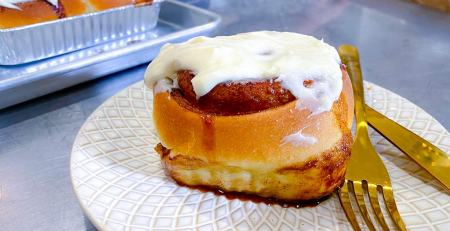 cinnamon roll online baking course bread lady tv shb