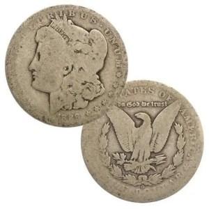 1878-1904 Morgan Cull 1878 to 1904 Morgan Culls available at Spring Hill Coin Shop
