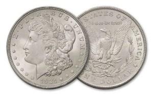 1921 Morgan BU Coins (Brilliant Uncirculated)