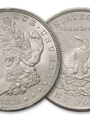 1921 Morgan BU Coins (Brilliant Uncirculated)