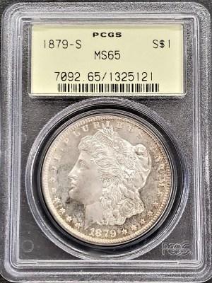 M04-4 1879 Morgan Silver