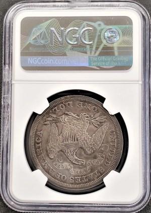 AC-3 1870 Seated Liberty Dollar