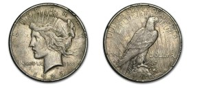 Peace Circulated Silver Peace Dollar Circulated Peace Circulated