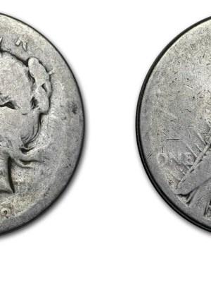 Silver Peace Dollar Culls - Peace Culls