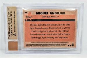 2018 Topps Chrome Miguel Andujar #38