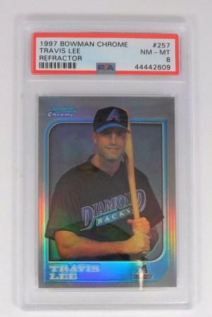 1997 Bowman Chrome Travis Lee #257