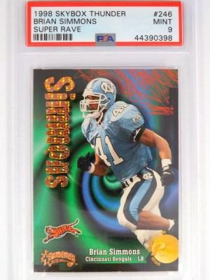 1998 Skybox Thunder Brian Simmons #246