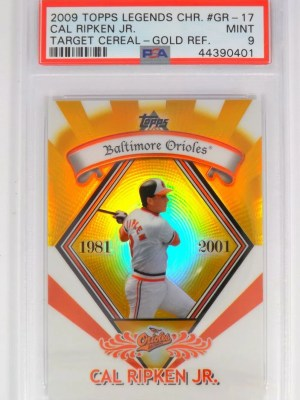 2009 Topps Legends Chrome Cal Ripken Jr. #GR-17