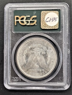 M04-16 1881 Morgan Silver Dollar PCGS MS64