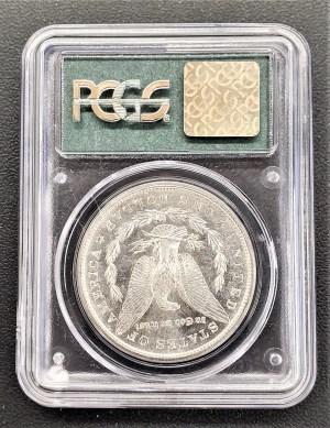 M04-18 1881 Morgan Silver Dollar PCGS MS64