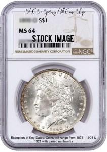 Morgan NGC MS64 DC