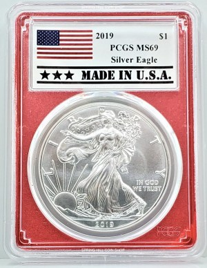 SPRING HILL COIN SHOP - WE HAVE ANACS ASE, ICG ASE, PCGS ASE, NGC ASE, MS69, MS70, PF69, PF70, PR69, PR70, BURNISHED, PROOF, ULTRA CAMEO, DEEP CAMEO, AND MORE SE-1: 2019 PCGS MS69 ASE