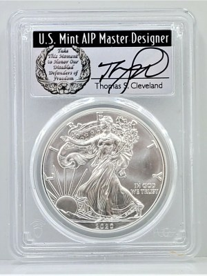 SE9-2 2020 PCGS MS70 FIRST DAY CLEVELAND DISABLED -1