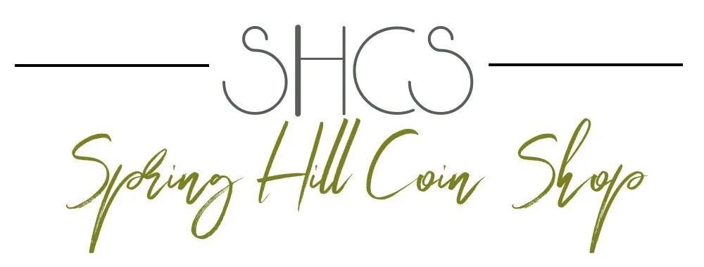 Checkout SHCS: Spring Hill Coin Shop - Logo 2