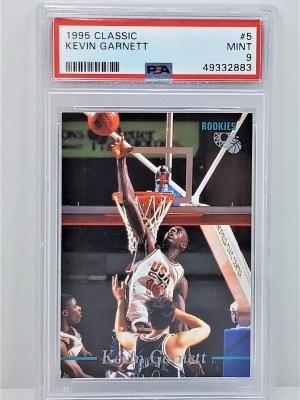 1995 Classic #5 Kevin Garnett Rookie