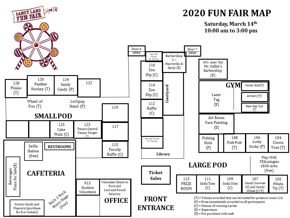 Fun Fair Map & Guide