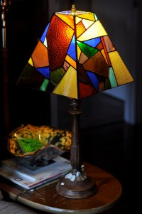 Stained Glass Lamp Shade | Springhouse
