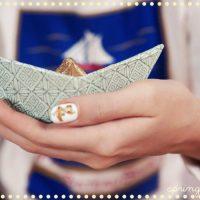 DIY : Maman les petits bateaux mint et dorés