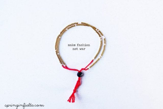 make fashion not war- wm