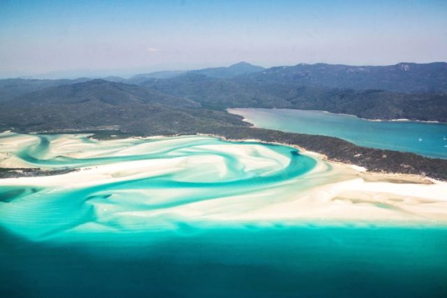 whitsunday islands flight