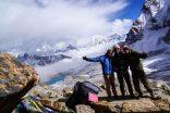 Summit Renjo La pass (5360 m)