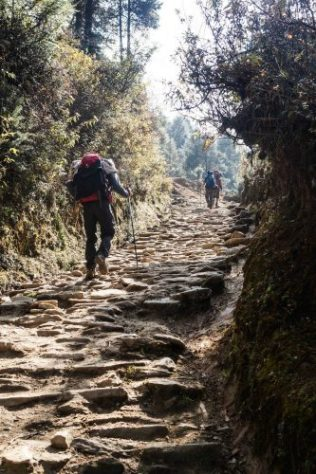 On the way from Jiri to Namche