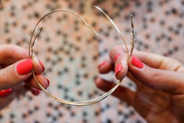 Bracelet saint valentin coeur etape 8