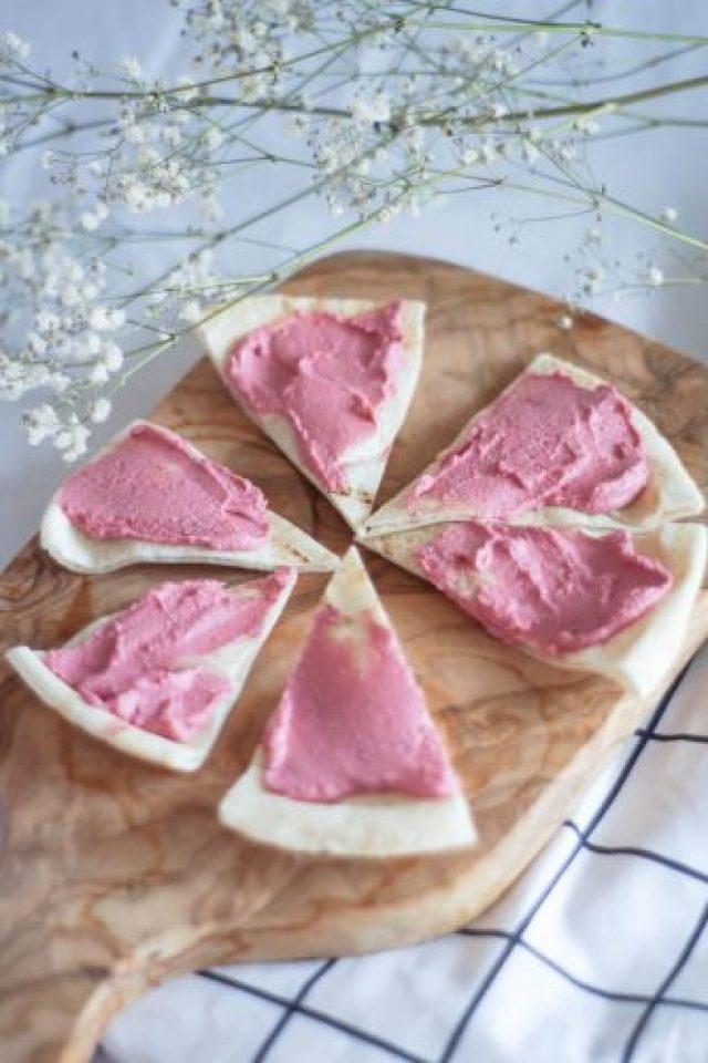 Hummus rose à la bettrave recette délicieuse - les 3 secrets pour un bon hummus