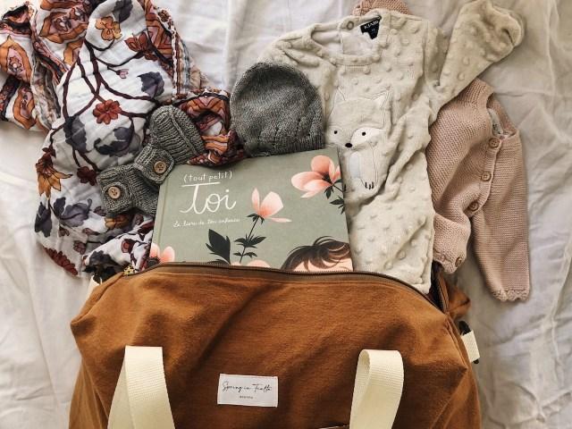 DIY sac de week-end / sac à langer (inspiration Rive Droite Paris)