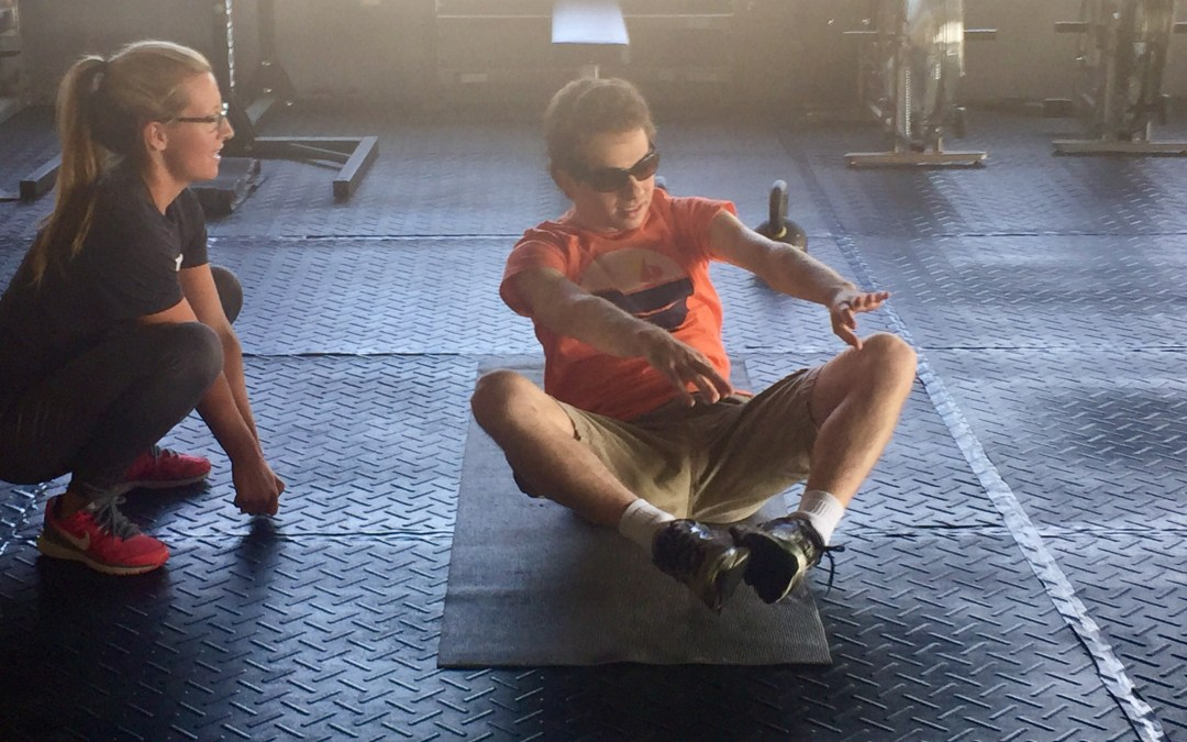 """""""I See Him Getting Physically and Mentally Stronger With Each Workout!"""" -Meet Corey"""