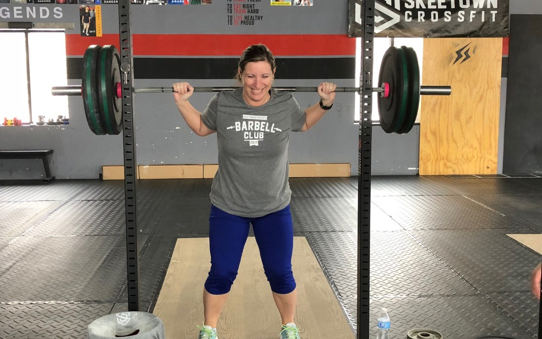 """CrossFit Has Given Me a Sense of Accomplishment""- meet Becky"