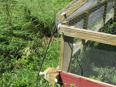 Chicken Tractor Electrification