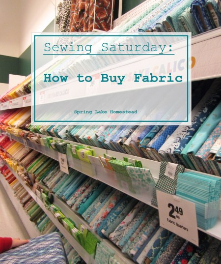 How to Buy Fabric