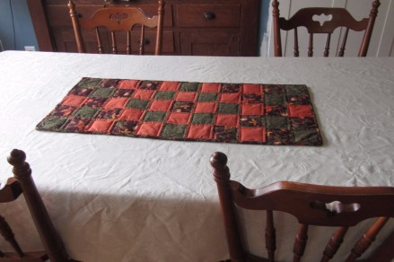 How to Make a Patchwork Table Runner: Part 2