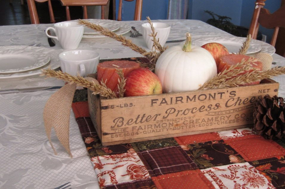 Creating a Harvest Tablescape