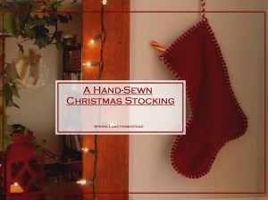 Hand-Sewn Stockings