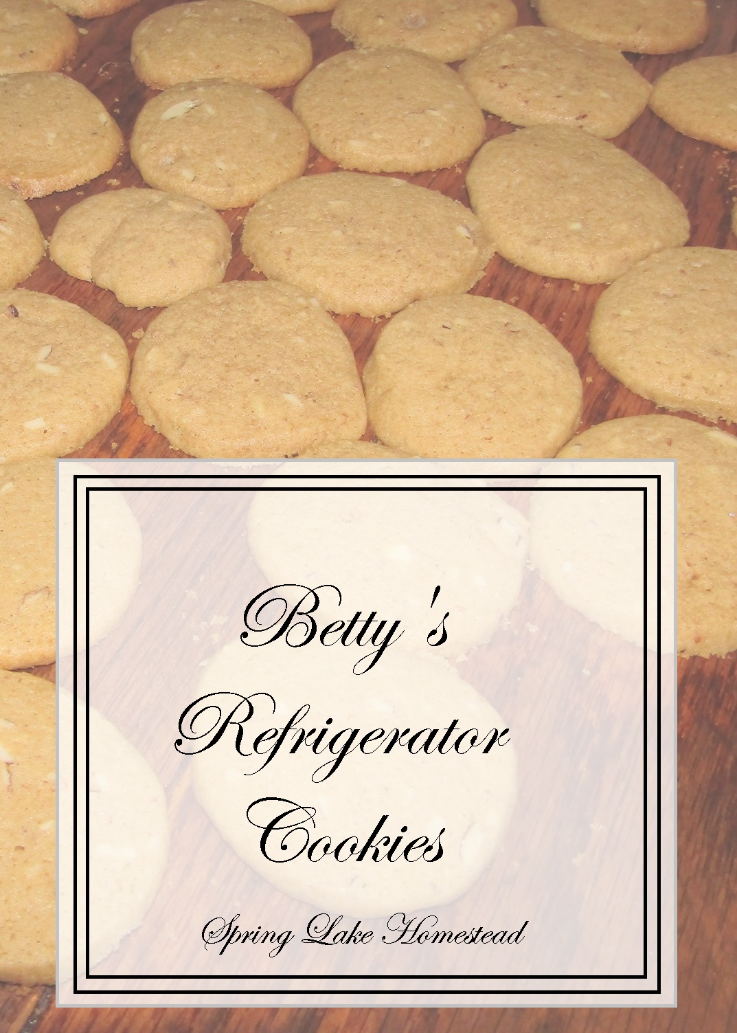 Betty's Refrigerator Cookies