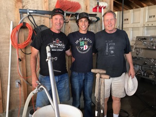 Behrens Family Winery - Sean, Ethan and Les