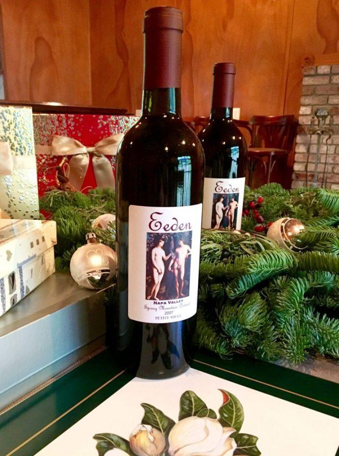 Eeden Vineyards Holiday wine