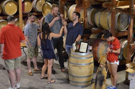 Keenan Winery Wine Tasting