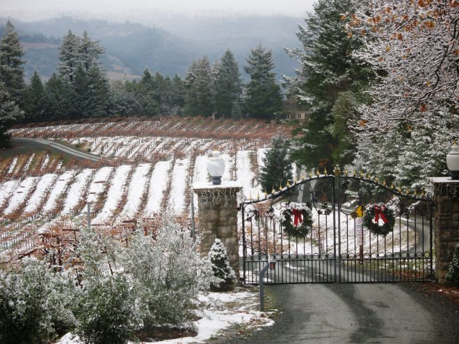 Schweiger Winery - Winter Time