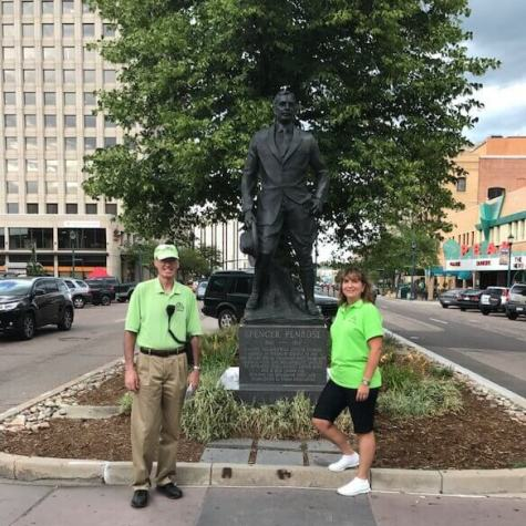 Downtown Colorado Springs Ambassadors Dean & Nicole act as an extra set of eyes and ears for the city