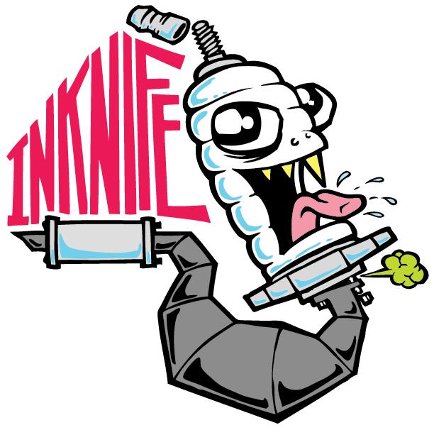 Inknife