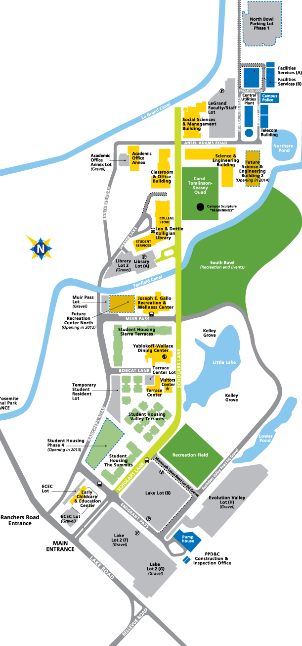 Uc Merced Campus Map : merced, campus, Alpha, Omega
