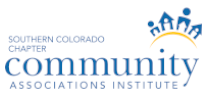Member of Southern Colorado Chapter of Community Associations Institute