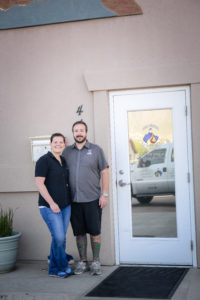 Jon and Anne Campbell - Owners of Colorado Stoneworks Landscaping
