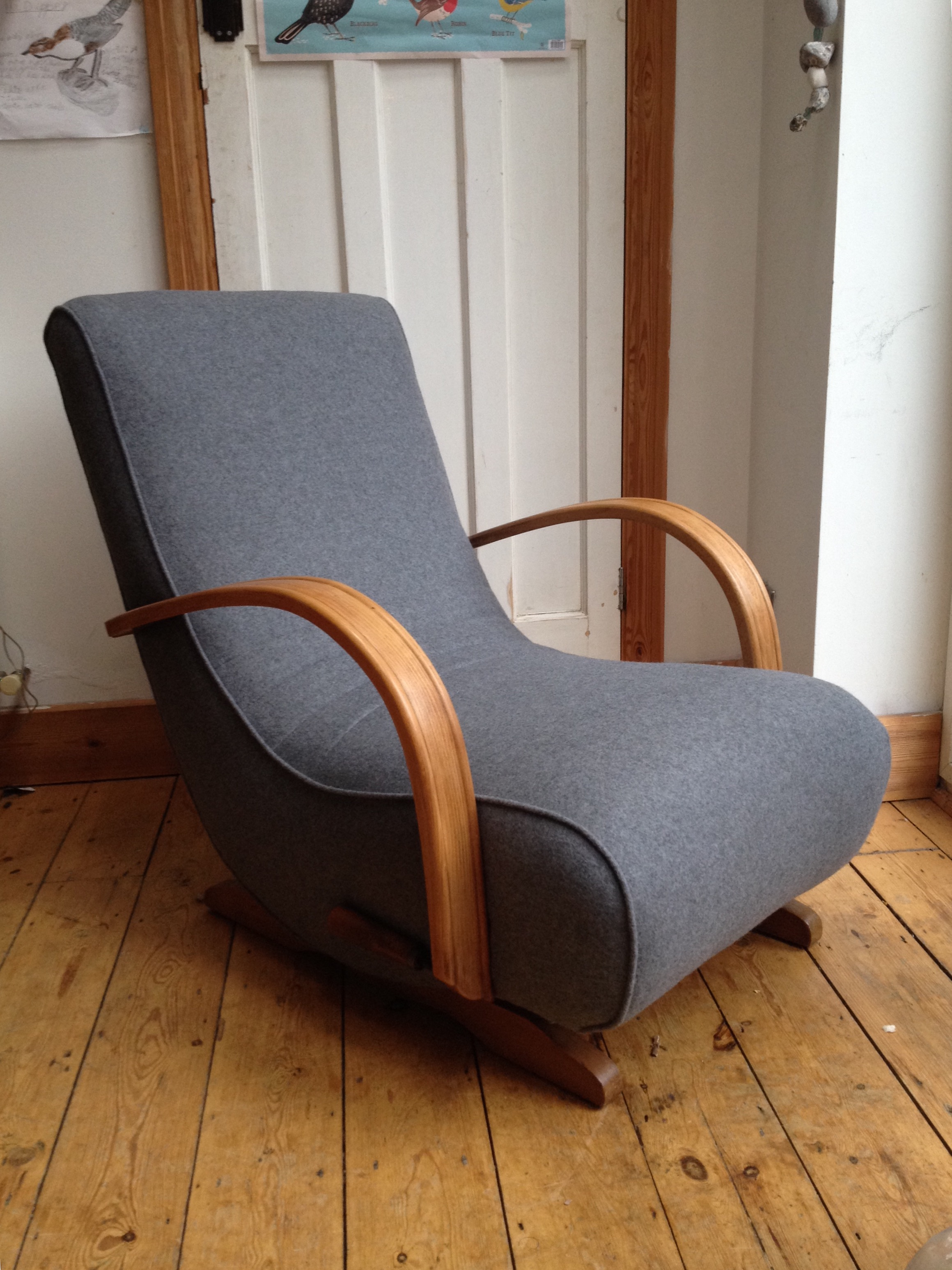 Banana Rocker Chair Spring Upholstery Giving Old Chairs A New Lease Of Life